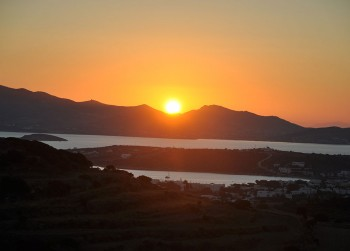 Sunset at Paros