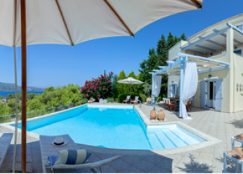 Villa in Costoula Ourdoor View