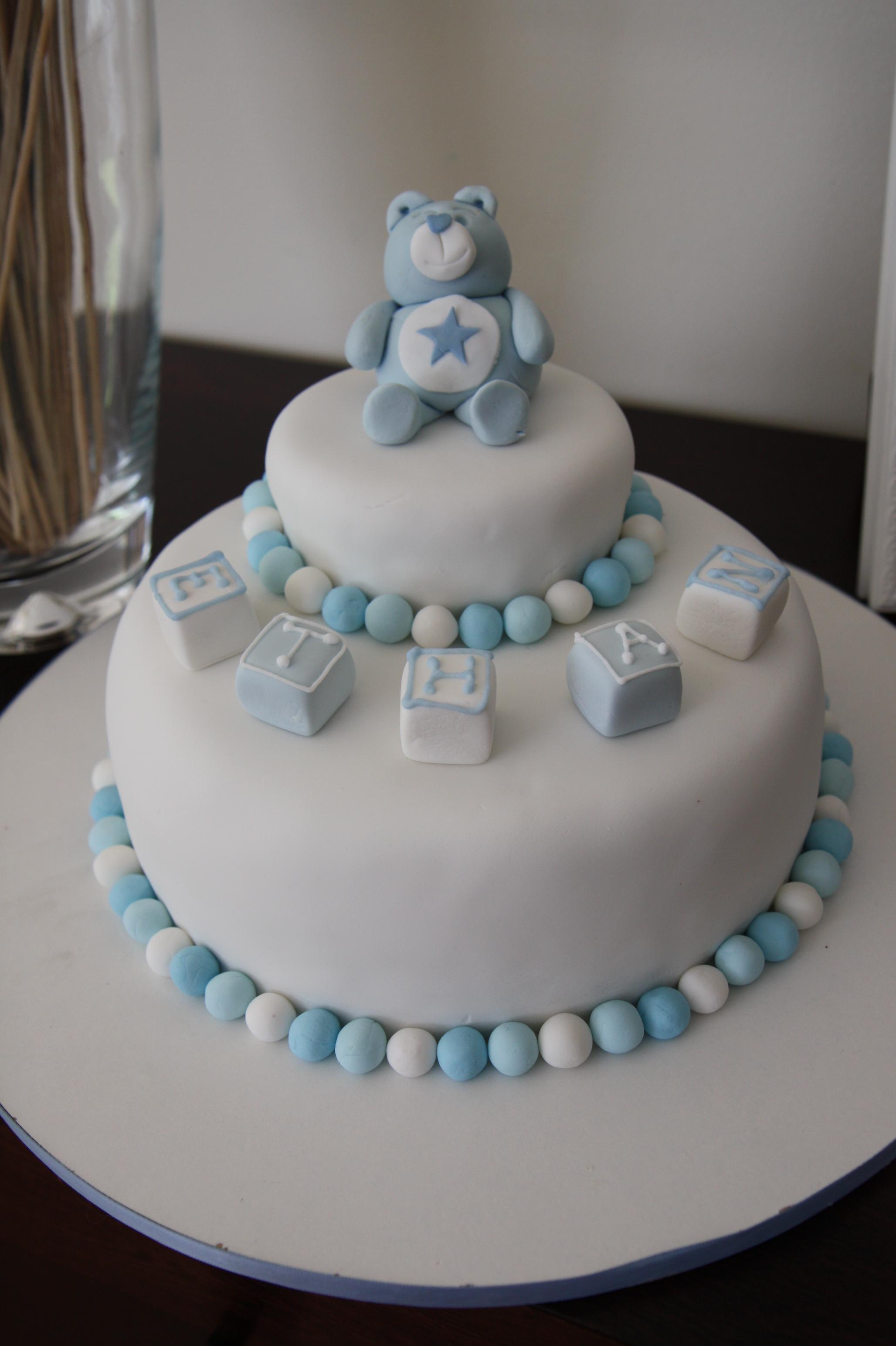 How To Decorate A Christening Cake