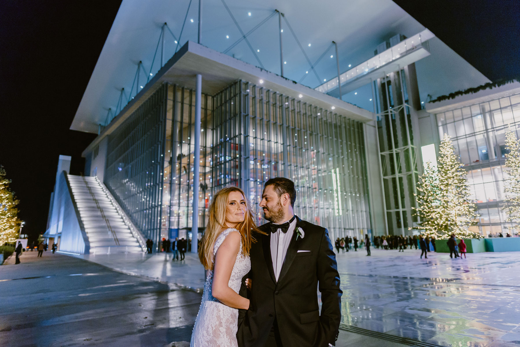 Thanos Ioanna wedding - Stavros Niarchos Foundation